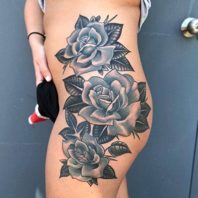 Hip Tattoo 86