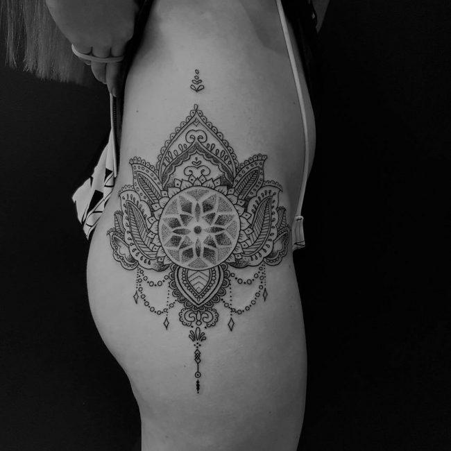 Hip Tattoo 88