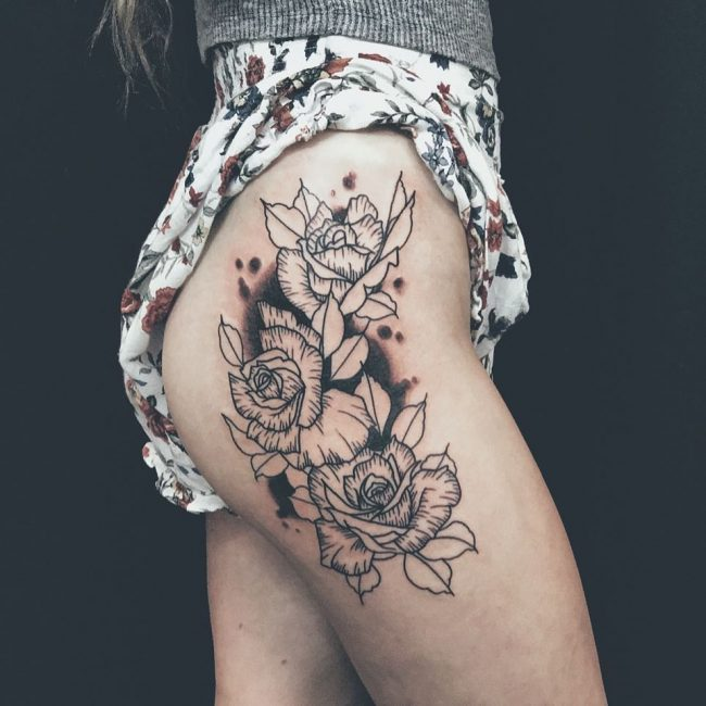 Hip Tattoo 92