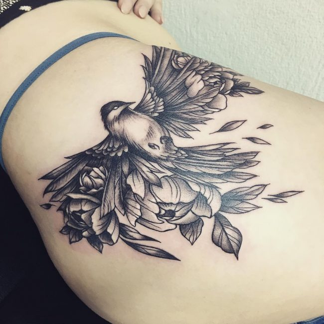 Hip Tattoo 93
