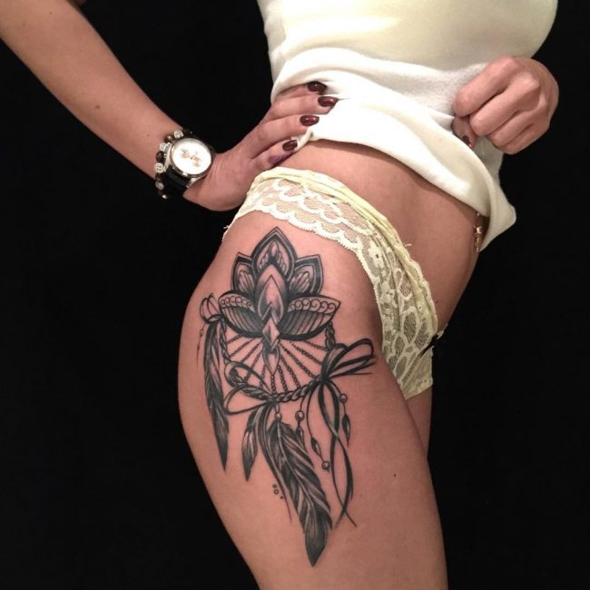 Hip Tattoo 94