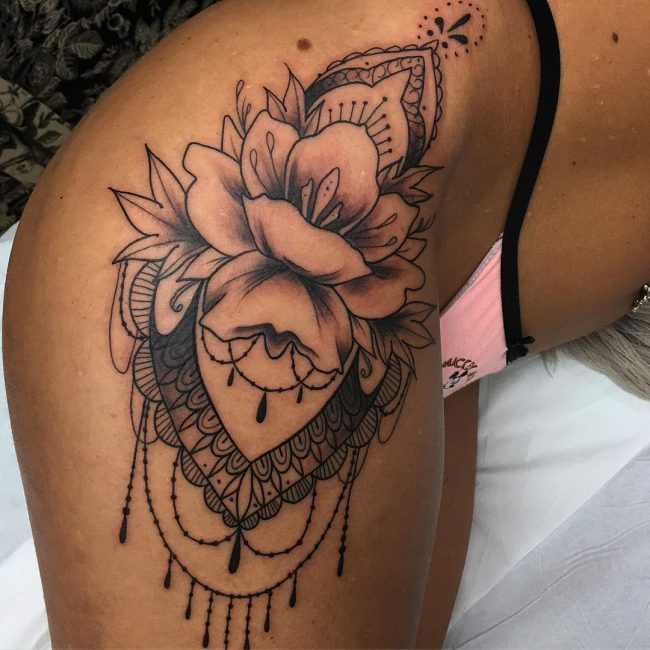 Hip Tattoo 95