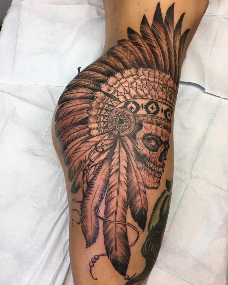 Hip Tattoo 96