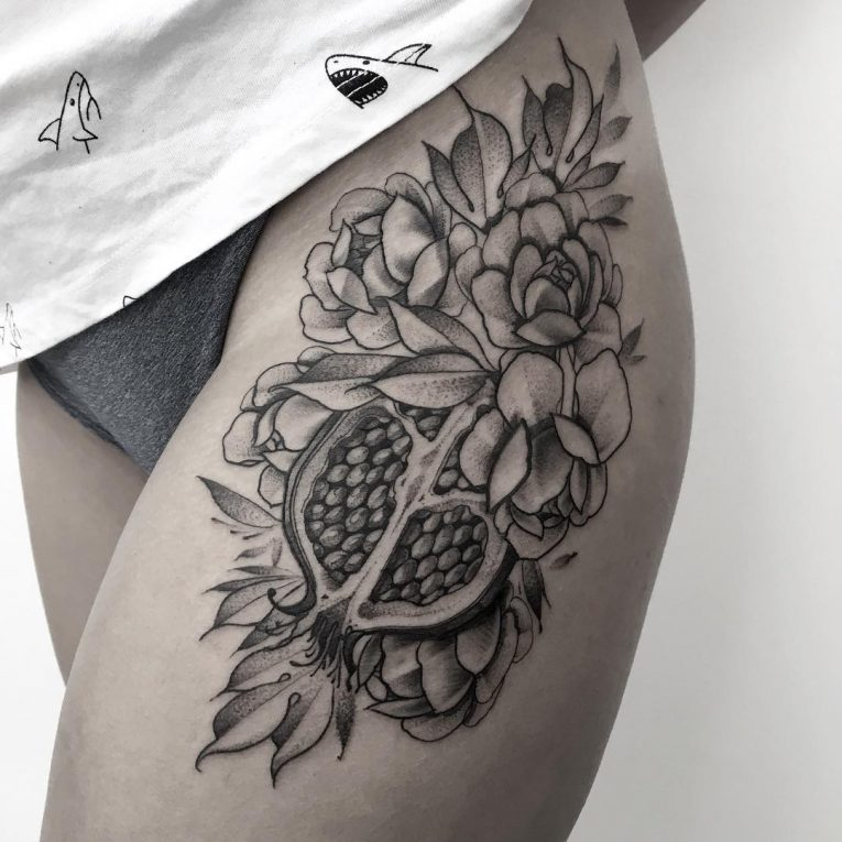 Hip Tattoo 97