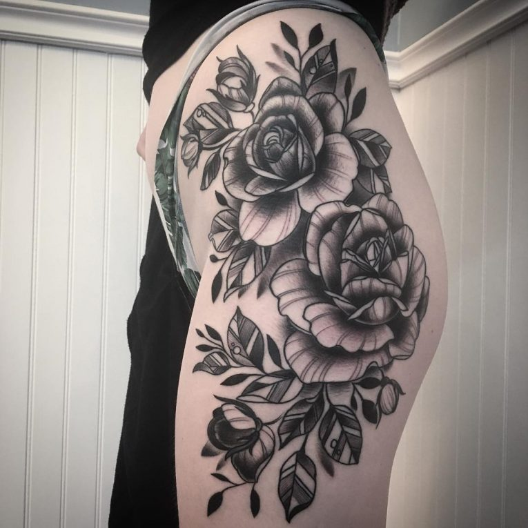 Hip Tattoo 98
