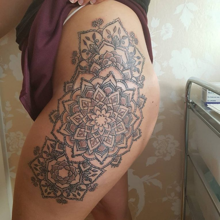Hip Tattoo 99