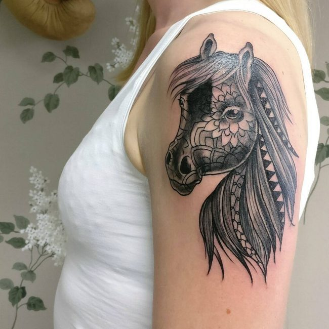 Horse Tattoo 62