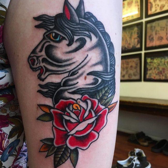 Horse Tattoo 66