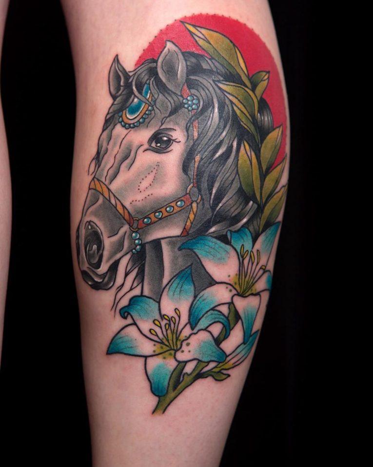Horse Tattoo 72