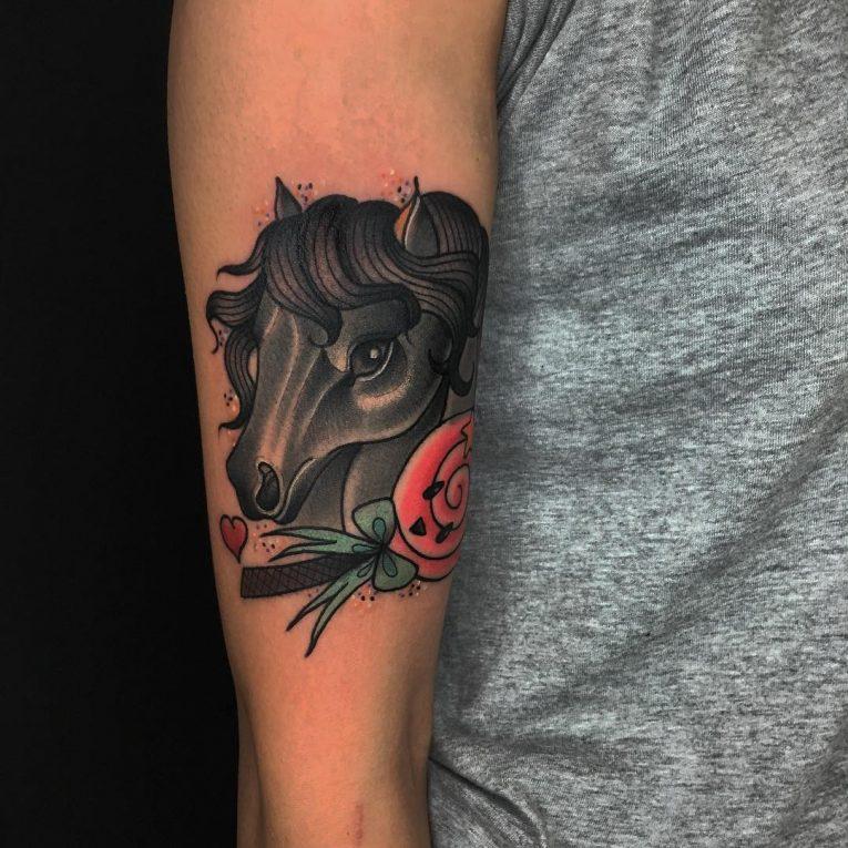 Horse Tattoo 75