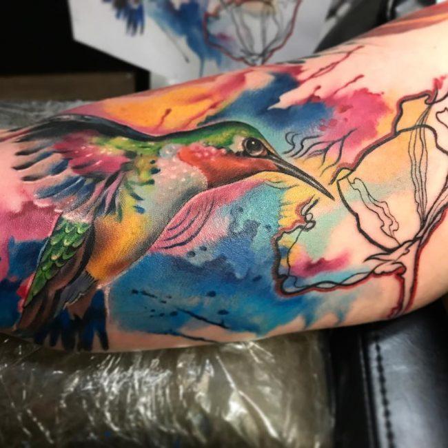 Hummingbird Tattoo 64