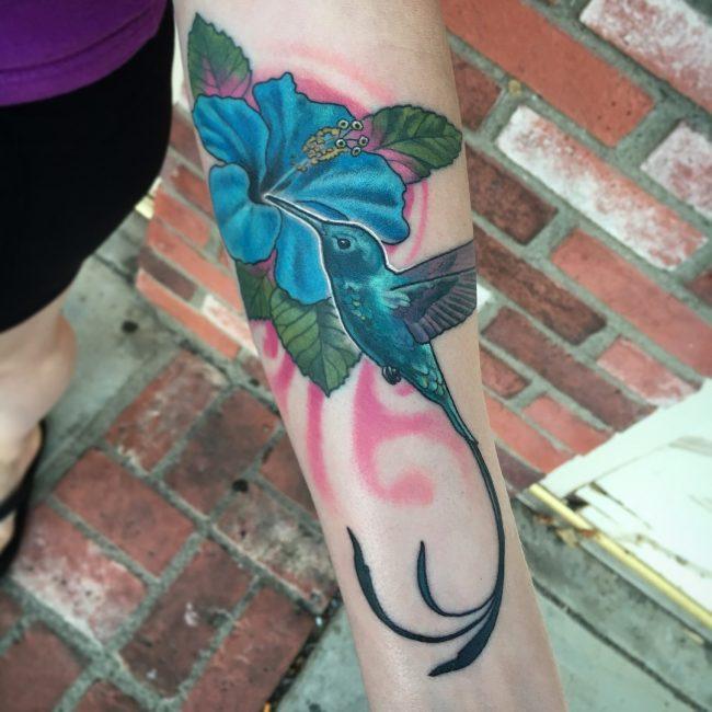 Hummingbird Tattoo 66