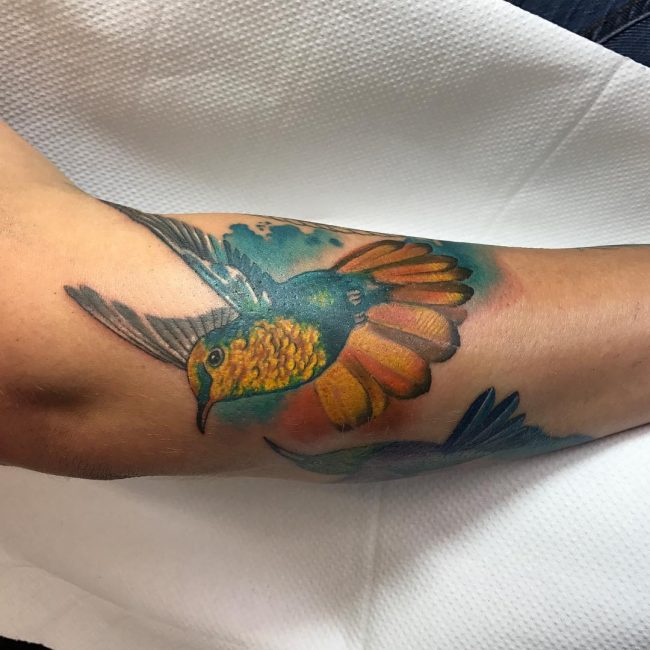 Hummingbird Tattoo 67
