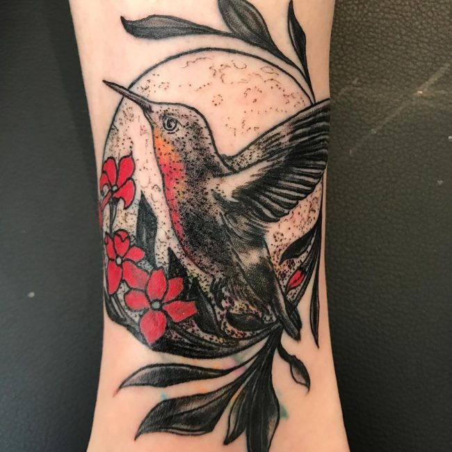Hummingbird Tattoo 68