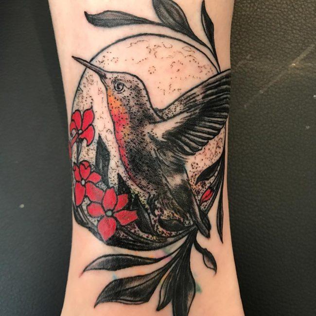 Hummingbird Tattoo 68