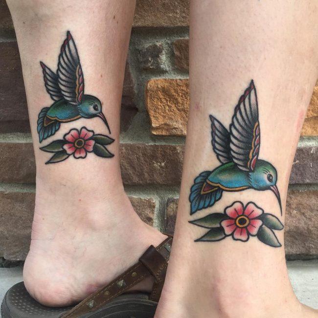 Hummingbird Tattoo 69