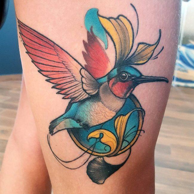 Hummingbird Tattoo 70