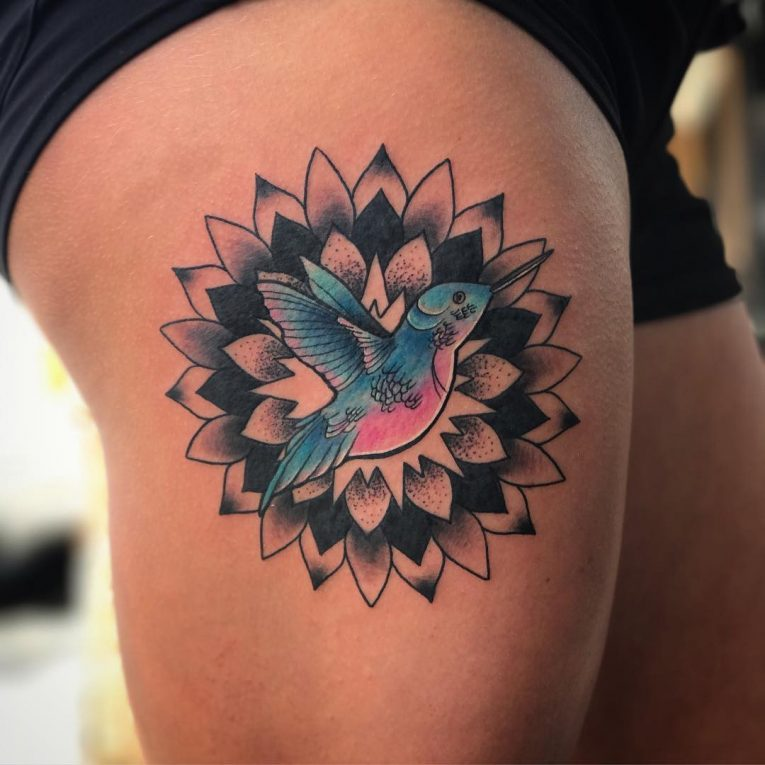 Hummingbird Tattoo 72