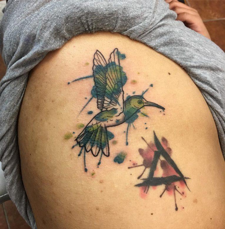 Hummingbird Tattoo 73
