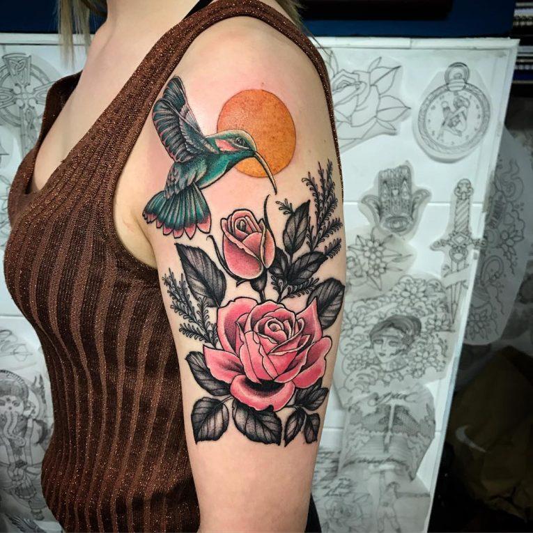 Hummingbird Tattoo 74