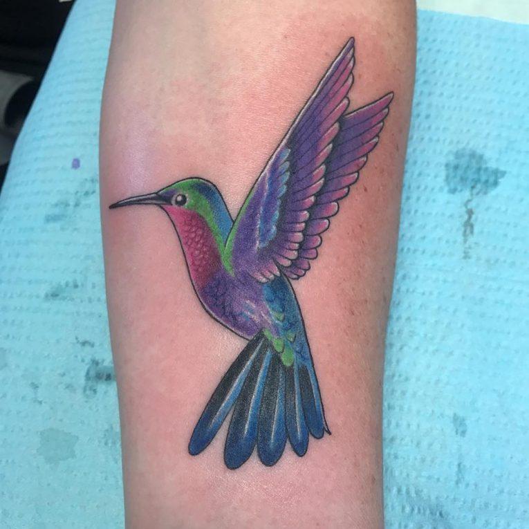 Hummingbird Tattoo 76