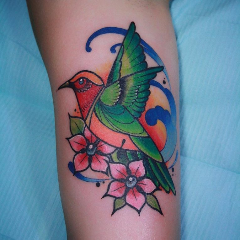 Hummingbird Tattoo 77