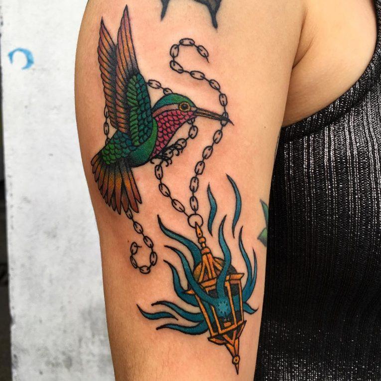 Hummingbird Tattoo 78