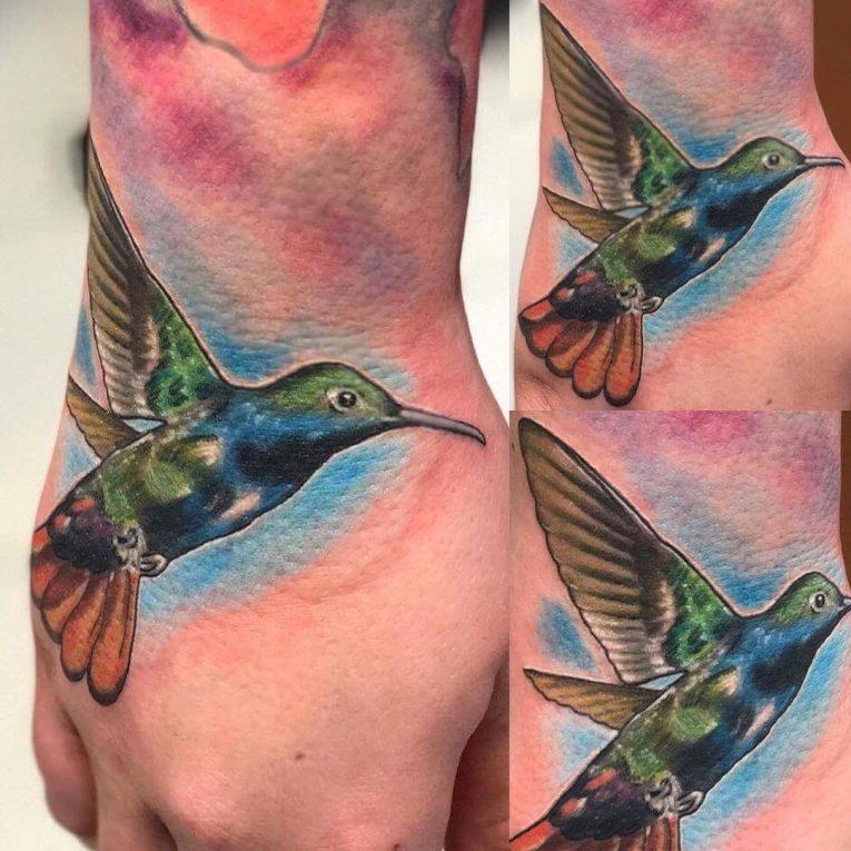 Hummingbird Tattoo 80