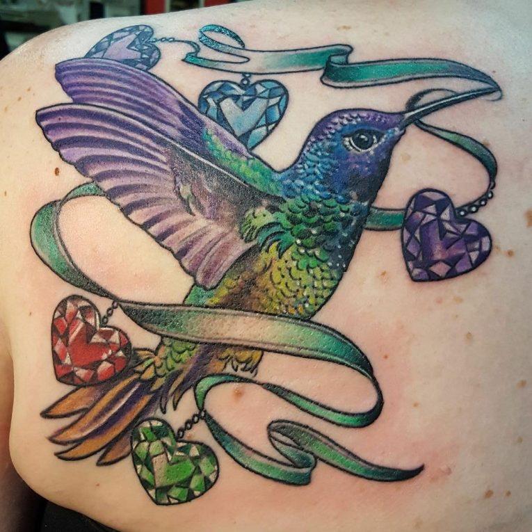 Hummingbird Tattoo 81