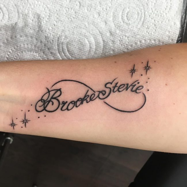 Infinity Symbol Tattoo 63