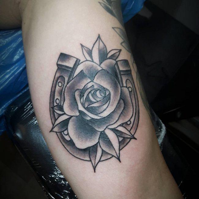 Inner Bicep Tattoo 103