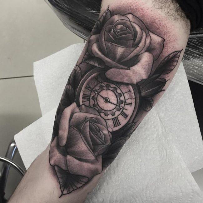 Inner Bicep Tattoo 104