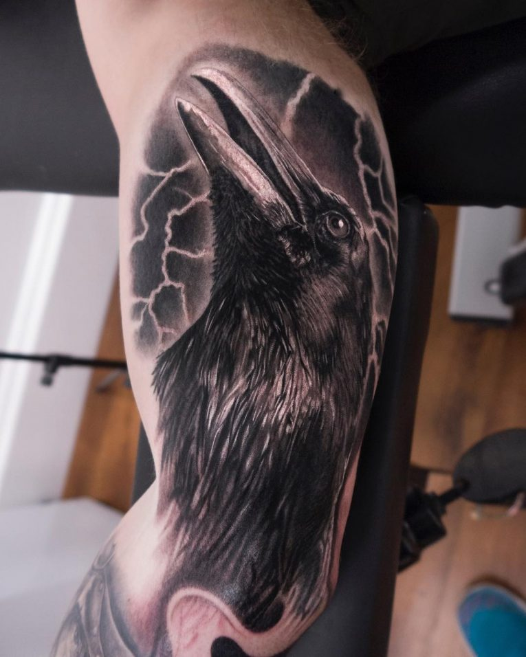 Inner Bicep Tattoo 106