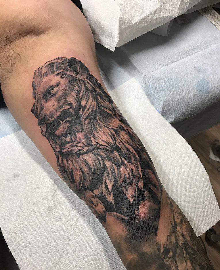 Inner Bicep Tattoo 107