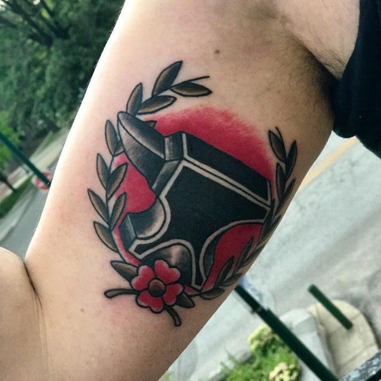 Inner Bicep Tattoo 109