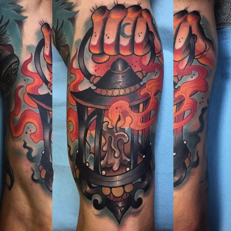 Inner Bicep Tattoo 112