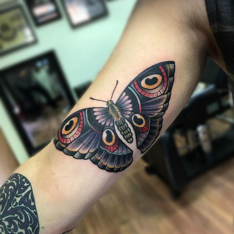 Inner Bicep Tattoo 113