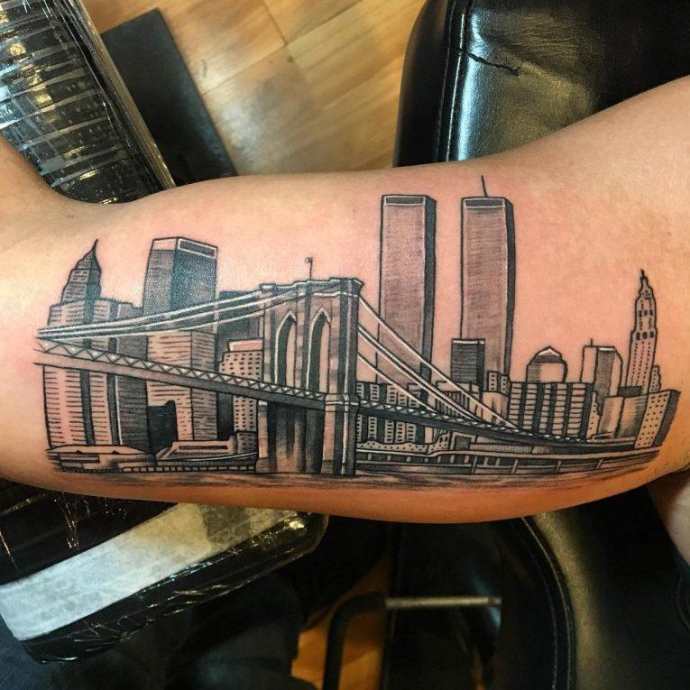Inner Bicep Tattoo 114
