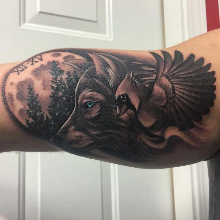 Inner Bicep Tattoo 117
