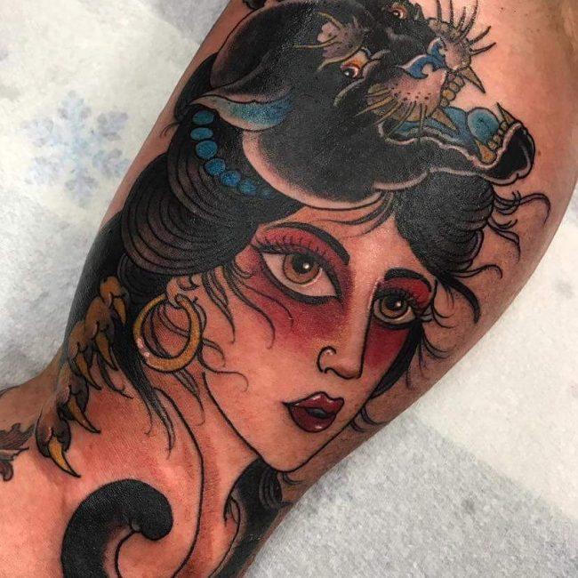 Inner Bicep Tattoo 97
