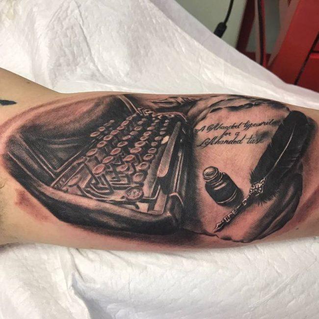 Inner Bicep Tattoo 98