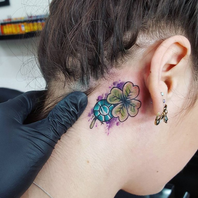 55 best irish tattoo designs meaning style traditions for Clover tattoo meaning