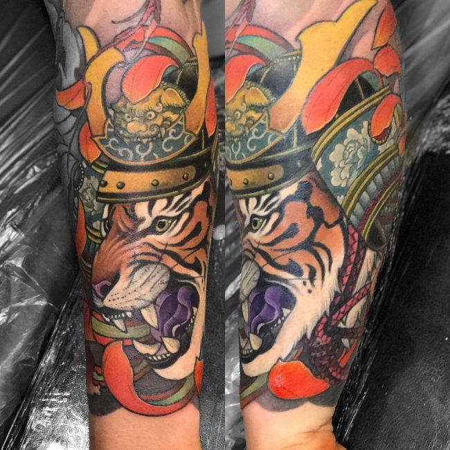 Japanese Style Tattoo 107