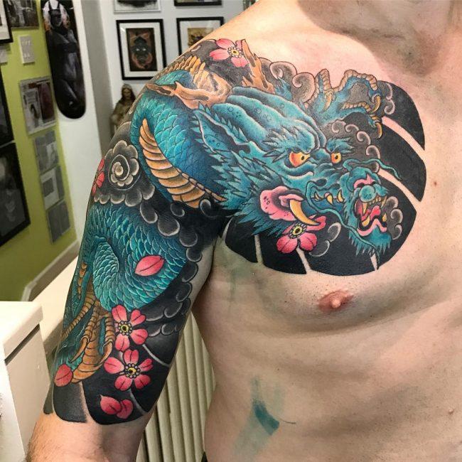 Japanese Style Tattoo 108
