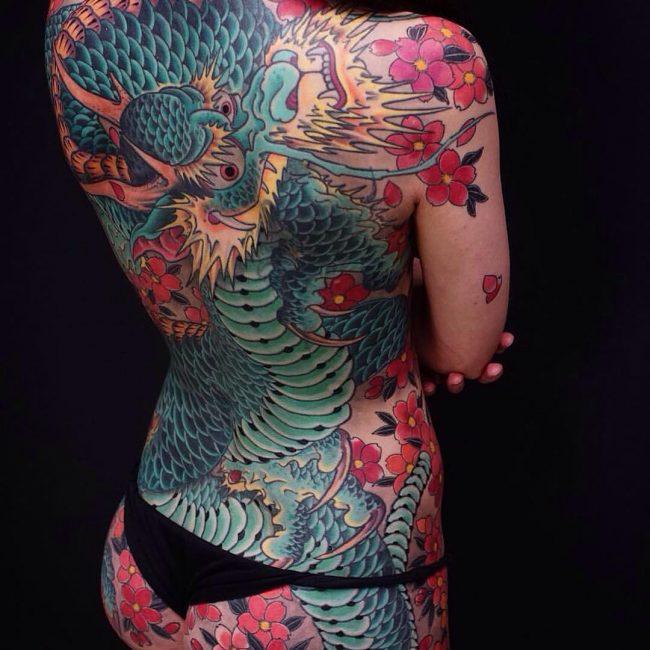 Japanese Style Tattoo 111
