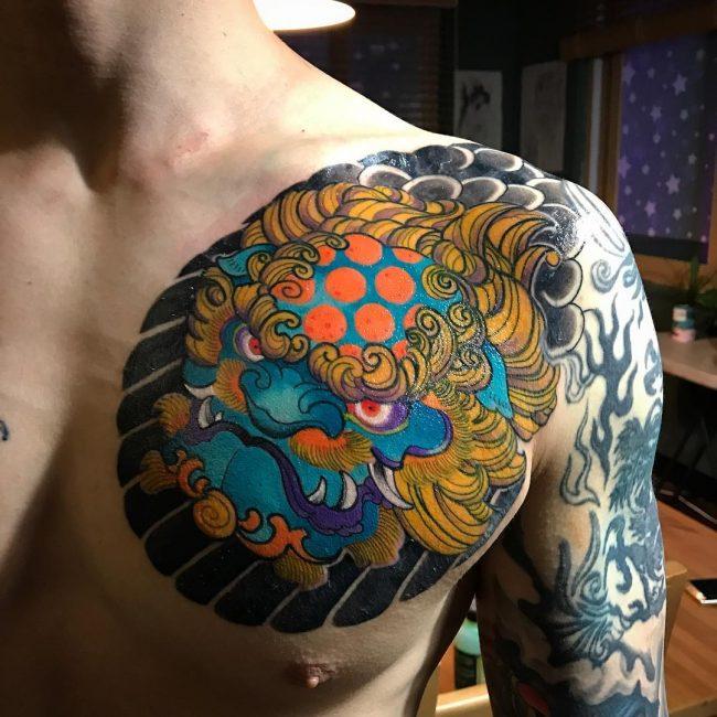 Japanese Style Tattoo 113
