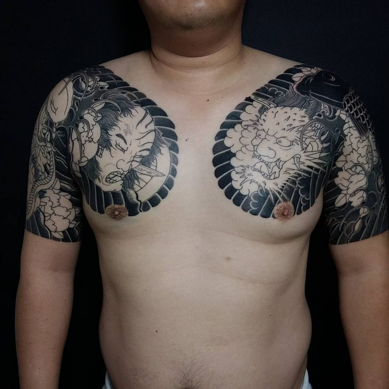 Japanese Style Tattoo 118