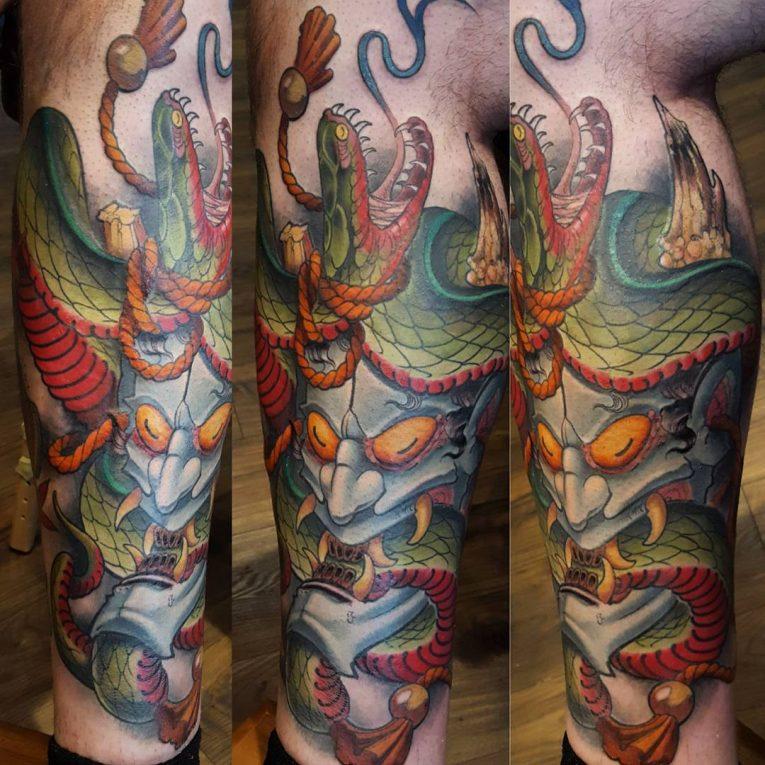 Japanese Style Tattoo 119