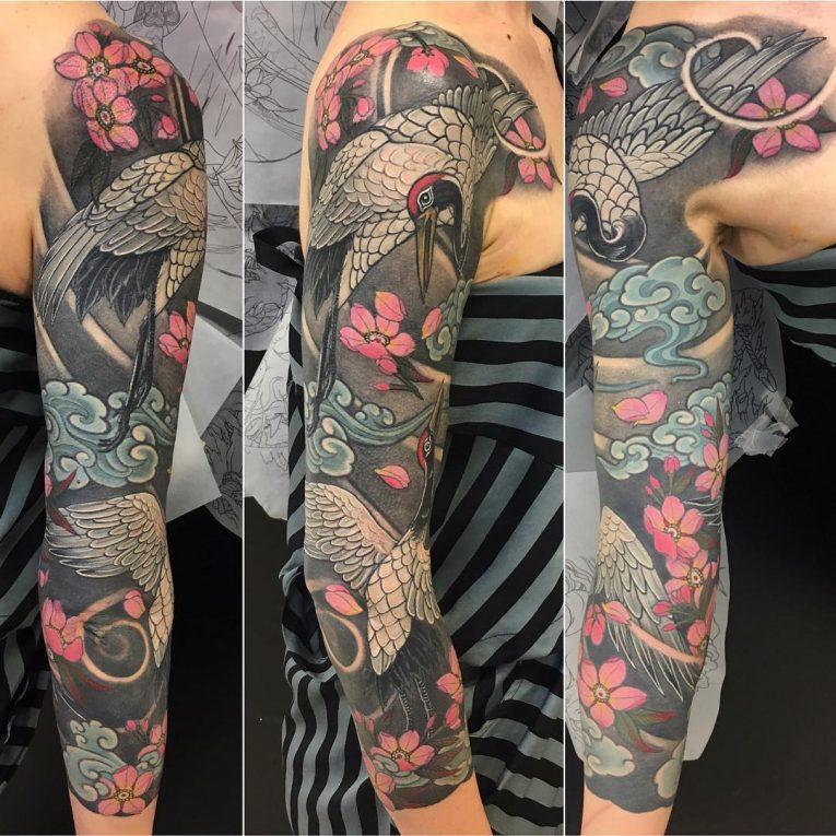 Japanese Style Tattoo 127