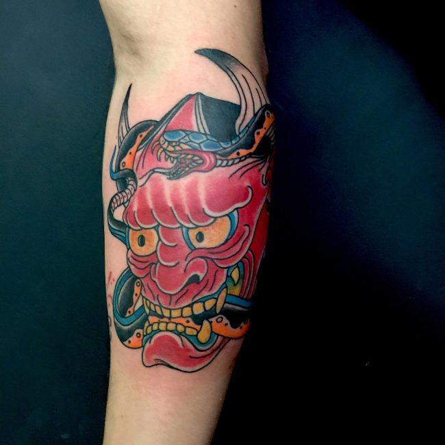 Japanese Style Tattoo_